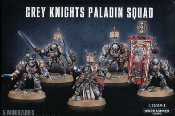 Games Workshop Warhammer 40000 40K Grey Knights Paladin Squad 57-09